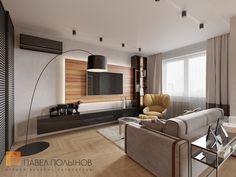 Фото гостиная из проекта «Интерьер квартиры в современном стиле, ЖК «Дом на Лиговском проспекте», 70 кв.м.»