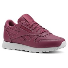 a49595053ed Shop for Classic Leather - Pink at reebok.com. See all the styles and