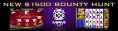 Join the Bounty Hunt this February at Miami Club Casino with a chance to win $3000 in prizes!  Miami Club Casino - adolphgambler