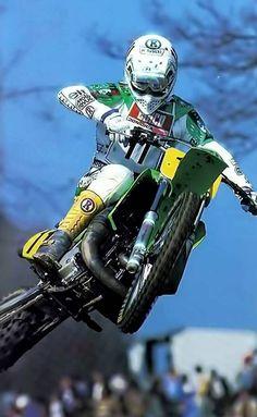 George JOBE Old Bikes, Dirt Bikes, 2 Stroke Dirt Bike, Off Road Racing, Motocross Racer, Old Scool, Vintage Helmet, Vintage Motocross, Frases