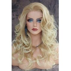 SHARE & Get it FREE | Shaggy Curly Long Capless Charming Blonde Heat Resistant Synthetic Wig For WomenFor Fashion Lovers only:80,000+ Items • FREE SHIPPING Join Twinkledeals: Get YOUR $50 NOW!