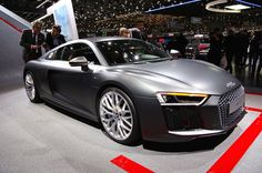 2016 Audi R8 - at the Geneva Auto Show.  Check out specs and photos