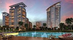 Sikka Group a famous Real Estate developer who is launching a new residential Project #sikkakarnamgreens which is located at Sector 143. There is beautiful architecture of apartments including all possible facilities.