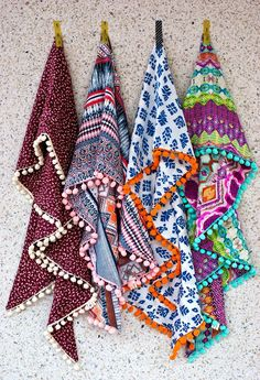 Fun scarves!