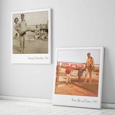 Personalised Giant Polaroid Canvas