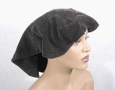 Adrian velvet hat, 1940s