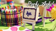 Arts/Crafts Birthday Party