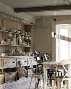 Great Welsh Dresser & Mismatched Chairs...