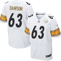 9cce57d15 Nike Steelers Heath Miller White Men s Stitched NFL Elite Jersey And Taco  Charlton 97 jersey