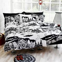 Moomin Night bed linen from Finlayson by Finlayson, Tove Jansson