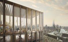 Grafton, Chipperfield, Diller Scofidio - Shortlist für Uni-Erweiterung in London