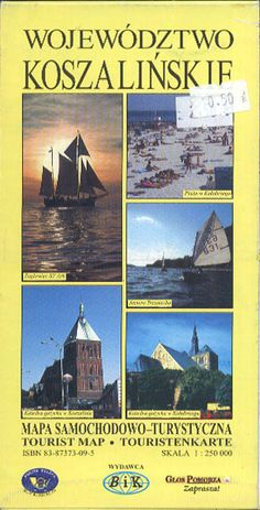 Województwo koszalińskie 1:250 000, BiK, 1997, http://www.antykwariat.nepo.pl/wojewodztwo-koszalinskie-1250-000-p-13460.html