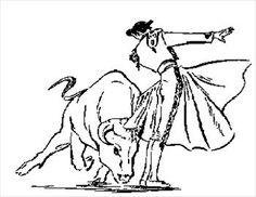 A Matador Sketch From While Back