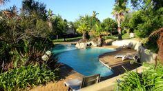 Pool closest to the rooms at the Caledon Hotel & Spa Hotel Spa, Summer Sun, Hot Springs, South Africa, Travel Inspiration, Rooms, Outdoor Decor, Holiday, Quartos