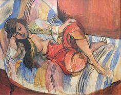 Henri Matisse, Odalisque in Red Trousers on ArtStack #henri-matisse #art