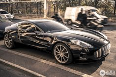 With only 77 ever made one of the rarest supercars in the world the Aston Martin One-77