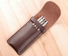 Find More Pencil Bags Information about Handmade Fashion Genuine Cowhide Leather Pencil Case/Leather Pen Holster/LAMY Big Pencil Bag Gifts Free Shipping,High Quality pen outline,China pen net Suppliers, Cheap gift accesories from Mingway Shop on Aliexpress.com