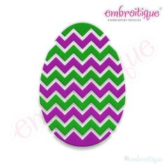 Fancy Easter Egg 25 Filled Embroidery Design by Embroitique