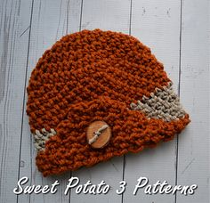 The 2015 Cancer Charity Hat was designed specifically for the Cancer Challenge hosted by Sweet Potato 3 Patterns.