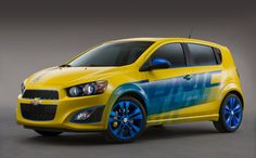 American automobile manufacturer, Chevrolet has introduced a number of amazing performance-enhancing features forits upcoming passenger cars like Sonic and Impala. The latest models of Chevrolet's passenger cars will be on display during the SEMA Show, Chevrolet Chevelle, Chevy, New Impala, Sonic Car, Car Tags, Car Guide, Airplane Design, Gas And Electric, Latest Cars