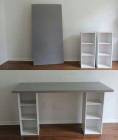 cooler Schreibtisch - #cool #desk - #cool #desk,  #Cool #cooler #desk #homeofficeinspirationworkspaces #Schreibtisch