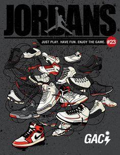 jordans by Gil Angelo Campita Ibe, via Behance Jordan Shoes Wallpaper, Sneakers Wallpaper, Nike Wallpaper, Air Jordan Sneakers, Jordans Sneakers, Air Jordans, Jordan Poster, Michael Jordan Basketball, Creation Art