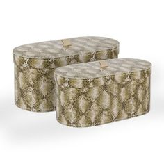 Snake boxes from Zara Home £9.99 for the small and £15.99 for the large (dressing room?)