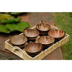 Coconut Shell Soup Bowl n Spoon