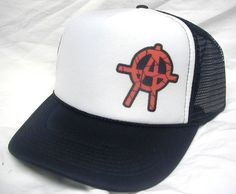 Anarchy Trucker hat - Skulls, Skater and Cool Trucker Hats & more