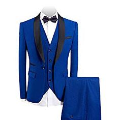 Beach Wedding Attire For Men - Avoid wrinkles on your suit and pants with this cotton and polyester blend 3 piece-suit.