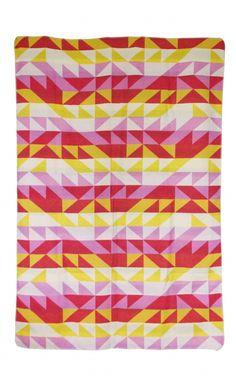 David Fussenegger - Grenadine Triangle Blanket 140cm x 200cm