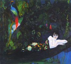 """H. Anglada Camarasa's """"Retrato de Sonia de Klamery"""" - one of my all-time favorite portraits"""