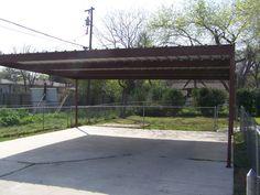 2 car metal carport prices   Metal Carport North Central San Antonio