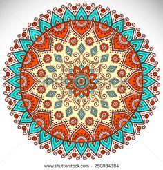 Ornament beautiful card with mandala Mandala Doodle, Mandala Drawing, Mandala Artwork, Mandala Painting, Stencil Painting, Mandala Design, Mandala Pattern, Mandala Indio, Motif Vintage