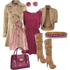 Magenta Pintuck Dress Fancyyy