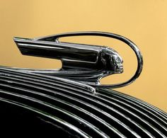Encircled with pride...Pontiac hood ornament...