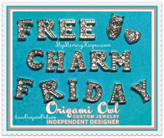 Memory Keepers ~ Origami Owl Living Lockets ~ Bren Yule: FREE CHARM FRIDAY! Origami Owl living lockets
