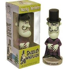 """it's """"Snidely,"""" but the bobblehead is cool."""
