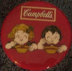 $4 Campbell's soup lidded bowl/thermos 2005 dishwasher/micro safe top says mm good on sides following picture.