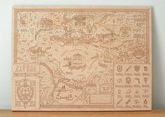 Woodlands: Hyrule by Graphic designer Alex Griendling and Neutral Ground