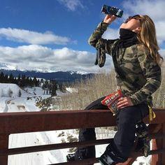 Mountain Hydration - Courtney Cox, Pro Snowboarder
