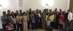 There comes a Time when TEAM MEMBERS becomes FRIENDS and Friends Become FAMILY...........  A Dinner with Family and Friends who ACCEPT you for who YOU ARE and always wants to see you SMILE and LOVE you............... Three Cheers to the Big Family of Dental Blasters...... #TeamFamilyDinner #FamilyLoveFrienship #DentalBlasters #DentistsCricketTeam