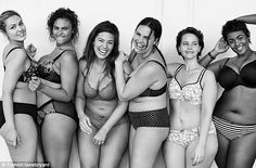 """Justine Legault, Marquita Pring, Ashley Graham, Candice Huffine, Elly Mayday & Victoria Lee Lane Bryant Campaign Victoria 's secret"" Lane Bryant, Justine Legault, Real Bodies, Modelos Plus Size, Body Confidence, Plus Size Model, Plus Size Lingerie, Sexy Lingerie, Lingerie Models"