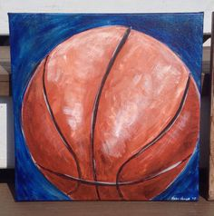 Basketball Wall Art Basketball Canvas Painting Shoot, Swish, Point! An awesome addition for any sports fanatic or little boys bedroom! Artwork