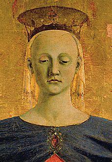 """Piero della Francesca Saint Mary """"della Misericordia"""""""