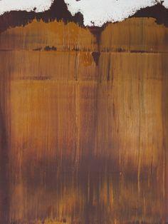 """Koen Lybaert; Oil 2014 Painting """"abstract N° 821 [Iron Oxide VI]"""""""