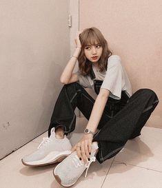 10 Best Boyish Yet Stylish Look of Lisa Blackpink Blackpink Outfits, Korean Outfits, Fashion Outfits, Blackpink Fashion, Korean Fashion, Blackpink Airport Fashion, Kpop Mode, Lisa Blackpink Wallpaper, Kim Jisoo