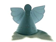 DIY Paper DIY Craft  DIY  Make Punched Tin Paper Angels