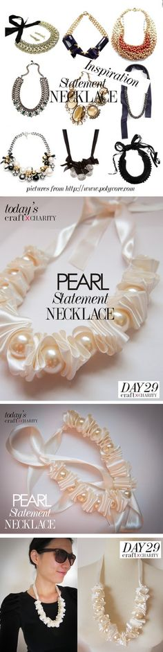 Day 29 - Pearl Statement Necklace