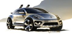 2014 #NAIAS Preview: #Vw Beetle Dune Concept wants to be a production model  http://www.4wheelsnews.com/2014-naias-preview-vw-beetle-dune-concept-wants-to-be-a-production-model/